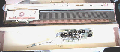 Bond USM - Knitting Machines - knitting machine, fiber source